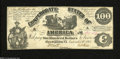 Confederate Notes:1861 Issues, T13 $100 1861....