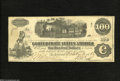 Confederate Notes:1862 Issues, 1862 $100 Railway Train; Diffused Steam from Locomotive; Milkmaidon left, T-40, VF...