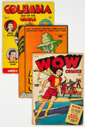 Golden Age (1938-1955):Miscellaneous, Golden Age Miscellaneous Comics Incomplete Group of 5 (Various Publishers, 1940s) Condition: Average PR.... (Total: 5 Comic Books)