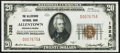 Allentown, PA - $20 1929 Ty. 1 The Allentown NB Ch. # 1322 Very Fine-Extremely Fine