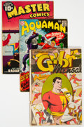 Golden Age (1938-1955):Miscellaneous, Golden to Silver Age Miscellaneous Comics Group of 10 (Various Publishers, 1940s-60s) Condition: Average GD.... (Total: 10 Comic Books)