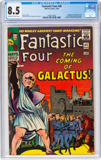 Fantastic Four #48 (Marvel, 1966) CGC VF+ 8.5 Off-white to white pages