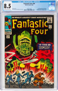 Silver Age (1956-1969):Superhero, Fantastic Four #49 (Marvel, 1966) CGC VF+ 8.5 Off-white to white pages....