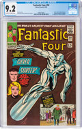 Silver Age (1956-1969):Superhero, Fantastic Four #50 (Marvel, 1966) CGC NM- 9.2 Off-white to white pages....