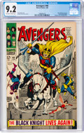 Silver Age (1956-1969):Superhero, The Avengers #48 (Marvel, 1968) CGC NM- 9.2 Off-white to w...