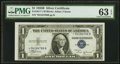 Small Size:Silver Certificates, Fr. 1611* $1 1935B Silver Certificate. PMG Choice Uncirculated 63 EPQ.. ...