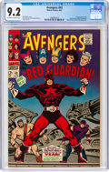 Silver Age (1956-1969):Superhero, The Avengers #43 (Marvel, 1967) CGC NM- 9.2 Off-white to w...