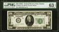 Fr. 2051-F $20 1928A Federal Reserve Note. PMG Choice Uncirculated 63 EPQ