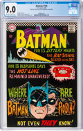 Silver Age (1956-1969):Superhero, Batman #184 (DC, 1966) CGC VF/NM 9.0 Off-white to white pages....