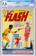 Silver Age (1956-1969):Superhero, The Flash #119 (DC, 1961) CGC VF- 7.5 Off-white to white pages....