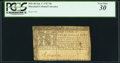 Colonial Notes:Maryland, Maryland January 1, 1767 $8 PCGS Very Fine 30.. ...