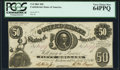 Confederate Notes:1861 Issues, T8 $50 1861 PF-8 Cr. Cr. 20 PCGS Very Choice New 64PPQ.. ...