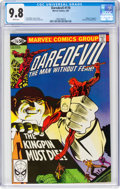 Modern Age (1980-Present):Superhero, Daredevil #170 (Marvel, 1981) CGC NM/MT 9.8 White pages....