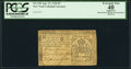Colonial Notes:New York, New York April 21, 1760 £5 PCGS Apparent Extremely Fine 40.. ...