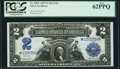 Large Size:Silver Certificates, Fr. 256* $2 1899 Silver Certificate PCGS New 62PPQ.. ...