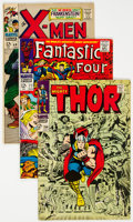 Silver Age (1956-1969):Superhero, Marvel Silver to Modern Age Group of 23 (Marvel, 1968-96) ...