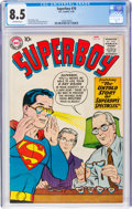 Silver Age (1956-1969):Superhero, Superboy #70 (DC, 1959) CGC VF+ 8.5 Off-white pages.