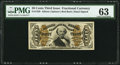 Fractional Currency:Third Issue, Fr. 1329 50¢ Third Issue Spinner Amanuensis PMG Choice Uncirculated 63.. ...