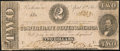 Confederate Notes:1863 Issues, T61 $2 1863 PF-1 Cr. 470 Very Good-Fine.. ...