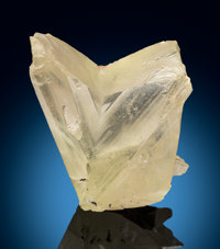Cerussite var. V Twin Mammoth-St Anthony Mine, St. Anthony Deposit Tiger, Mammoth District, Pinal Co. Ari... (Total: 2)
