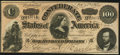 Confederate Notes:1864 Issues, T65 $100 1864 PF-3 Cr. 494 About Uncirculated.. ...