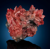 Rhodochrosite N'Chwaning Mines, Kuruman Kalahari Mn Field, Northern Cape South Africa  ... (Total: 2)