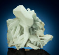 Minerals:Cabinet Specimens, Prehnite on Calcite. Dahisar Quarry, Mumbai District, Maharashtra, India. ...