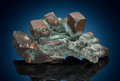 Minerals:Miniature, Native Copper. Phoenix Mine, Phoenix, Keweenaw Co., Michigan, USA. ...