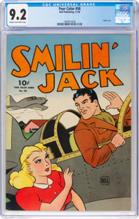 Four Color #58 Smilin' Jack (Dell, 1944) CGC NM- 9.2 Cream to off-white pages