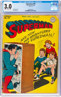 Superman #39 (DC, 1946) CGC GD/VG 3.0 Cream to off-white pages