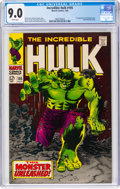 Silver Age (1956-1969):Superhero, The Incredible Hulk #105 (Marvel, 1968) CGC VF/NM 9.0 Whit...