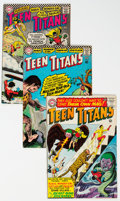Silver Age (1956-1969):Superhero, Teen Titans Group of 9 (DC, 1966-67). Includes iss...