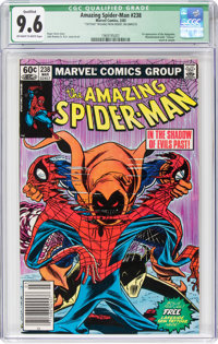 The Amazing Spider-Man #238 (Marvel, 1983) CGC Qualified NM+ 9.6 Off-white to white pages