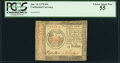 Colonial Notes:Continental Congress Issues, Continental Currency January 14, 1779 $35 PCGS Choice About New 55.. ...
