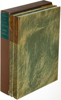 [Limited Editions Club]. Walt Whitman. Leaves of Grass. New York: 1942. One of 1,500 copies sig