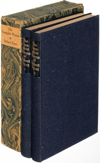 [Limited Editions Club]. Robert Frost. The Complete Poems of Robert Frost. New York: 1950. One