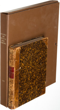 [Book Binding]. Pair of Titles Related to Book Binding. London and New York: 1888-1895. ... (Total: 2 Items)