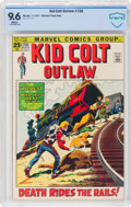 Bronze Age (1970-1979):Western, Kid Colt Outlaw #156 (Atlas/Marvel, 1971) CBCS NM+ 9.6 White pages....