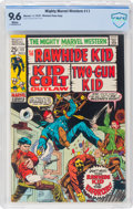 Bronze Age (1970-1979):Western, Mighty Marvel Western #11 Western Penn Pedigree (Marvel, 1970) CBCS NM+ 9.6 White pages....