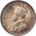 Canada, George V 10 Cents 1911 MS67 PCGS, Ottawa mint, KM1...