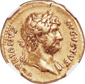 Ancients:Roman Imperial, Hadrian (AD 117-138). AV aureus (20mm, 7.11 gm, 5h). NGC C...