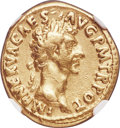 Ancients:Roman Imperial, Ancients: Nerva (AD 96-98). AV aureus (17mm, 7.46 gm, 6h). NGC VF 5/5 - 2/5, brushed, marks....