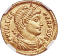 Ancients:Roman Imperial, Valens (AD 364-378). AV solidus (21mm, 4.46 gm, 5h). NGC A...