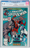 Modern Age (1980-Present):Superhero, The Amazing Spider-Man #344 (Marvel, 1991) CGC NM/MT 9.8 White pages....