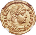 Ancients:Roman Imperial, Valens, Eastern Roman Empire (AD 364-378). AV solidus (22m...