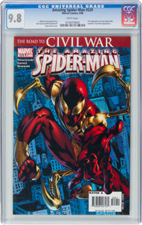 The Amazing Spider-Man #529 (Marvel, 2006) CGC NM/MT 9.8 White pages