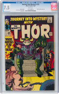 Silver Age (1956-1969):Superhero, Journey Into Mystery #122 (Marvel, 1965) CGC VF- 7.5 White pages....