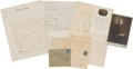Books:Manuscripts, Louis Pasteur. Group of Twelve Letters and a Photograph, 1857-1889.. ...