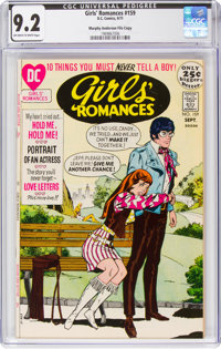 Girls' Romances #159 Murphy Anderson File Pedigree (DC, 1971) CGC NM- 9.2 Off-white to white pages