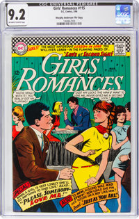 Girls' Romances #115 Murphy Anderson File Pedigree (DC, 1966) CGC NM- 9.2 Off-white to white pages